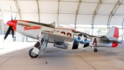 Photo ID 94344 by W.A.Kazior. Private Private North American P 51D Mustang, N44727