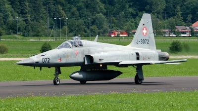 Photo ID 94468 by Jan Eenling. Switzerland Air Force Northrop F 5E Tiger II, J 3072