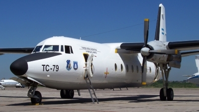 Photo ID 12037 by Martin Kubo. Argentina Air Force Fokker F 27 Mk400 Troopship, TC 79