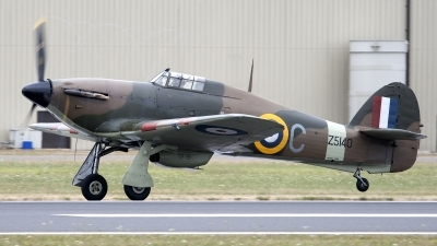 Photo ID 94661 by Niels Roman / VORTEX-images. Private Private Hawker Hurricane XII, G HURI