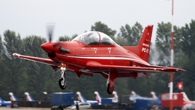 Photo ID 94899 by Niels Roman / VORTEX-images. Company Owned Pilatus Pilatus PC 21, HB HZC