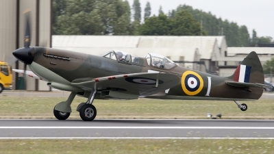Photo ID 94590 by Niels Roman / VORTEX-images. Private Private Supermarine 509 Spitfire T9C, G CCCA