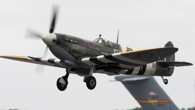 Photo ID 94587 by Niels Roman / VORTEX-images. Private Private Supermarine 361 Spitfire LF9E, G PMNF
