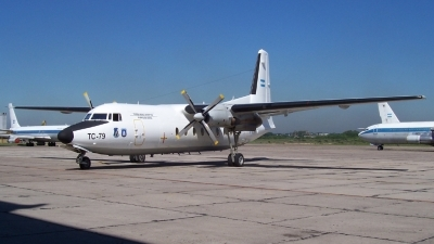 Photo ID 12048 by Martin Kubo. Argentina Air Force Fokker F 27 Mk400 Troopship, TC 79