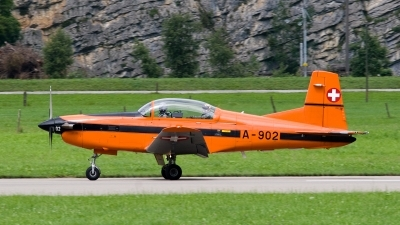 Photo ID 94596 by Jan Eenling. Switzerland Air Force Pilatus PC 7 Turbo Trainer, A 902