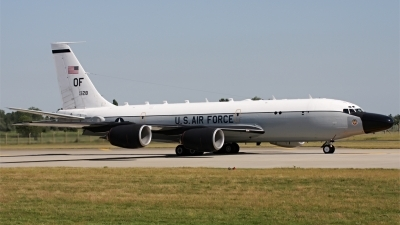 Photo ID 94967 by PAUL CALLAGHAN. USA Air Force Boeing RC 135S 717 148, 62 4128