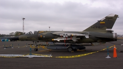 Photo ID 12076 by Eduardo Cardenas Suyo. Ecuador Air Force Dassault Mirage F1JA, FAE812