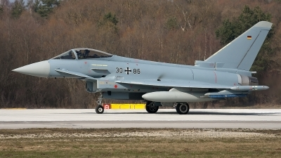 Photo ID 94868 by Jörg Pfeifer. Germany Air Force Eurofighter EF 2000 Typhoon S, 30 86