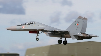 Photo ID 95349 by PAUL CALLAGHAN. India Air Force Sukhoi Su 30MKI Flanker, SB043