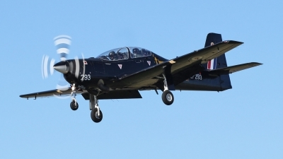 Photo ID 95319 by Mike Griffiths. UK Air Force Short Tucano T1, ZF293