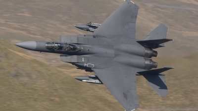 Photo ID 95468 by Tom Gibbons. USA Air Force McDonnell Douglas F 15E Strike Eagle, 91 0307