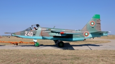 Photo ID 95826 by Radim Spalek. Bulgaria Air Force Sukhoi Su 25K, 240