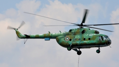 Photo ID 95834 by Radim Spalek. Bulgaria Air Force Mil Mi 17, 421