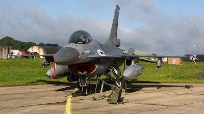 Photo ID 95588 by Jan Eenling. Belgium Air Force General Dynamics F 16AM Fighting Falcon, FA 68