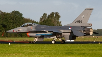 Photo ID 95605 by Lieuwe Hofstra. Netherlands Air Force General Dynamics F 16AM Fighting Falcon, J 060