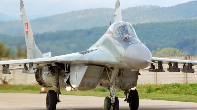 Photo ID 12224 by Matus Haladik. Slovakia Air Force Mikoyan Gurevich MiG 29A 9 12A, 6124