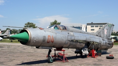 Photo ID 96114 by Kostas D. Pantios. Poland Air Force Mikoyan Gurevich MiG 21PFM, 04