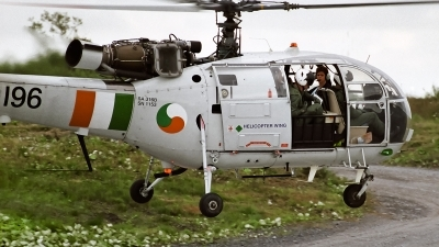 Photo ID 96073 by Alex van Noye. Ireland Air Force Aerospatiale SA 316B Alouette III, 196
