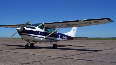 Photo ID 12252 by Martin Kubo. Argentina Air Force Cessna DINFIA A 182N, PG 379