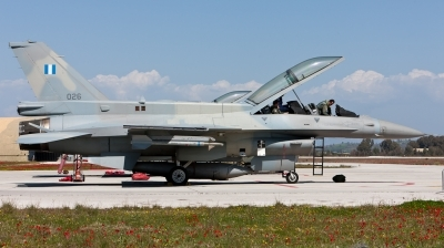 Photo ID 96190 by Andreas Zeitler - Flying-Wings. Greece Air Force General Dynamics F 16D Fighting Falcon, 026