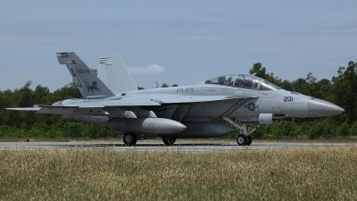 Photo ID 96426 by David F. Brown. USA Navy Boeing F A 18F Super Hornet, 166674