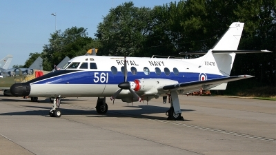 Photo ID 96471 by Jan Eenling. UK Navy Scottish Aviation HP 137 Jetstream T2, XX476