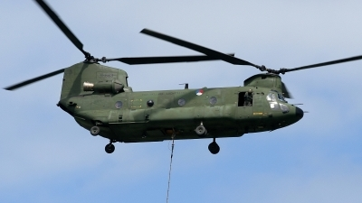 Photo ID 12323 by Rainer Mueller. Netherlands Air Force Boeing Vertol CH 47D Chinook, D 663