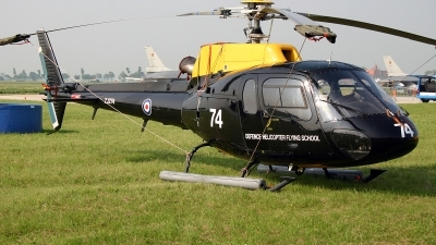 Photo ID 96770 by Jan Eenling. UK Air Force Aerospatiale AS 350B Squirrel HT1, ZJ274