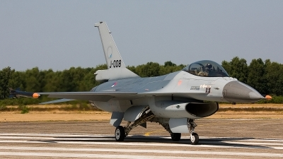 Photo ID 97088 by Jan Eenling. Netherlands Air Force General Dynamics F 16AM Fighting Falcon, J 008