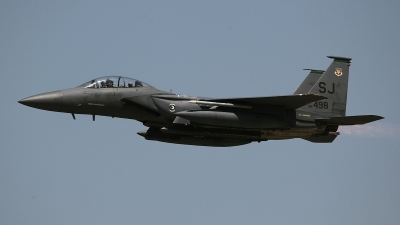 Photo ID 97130 by David F. Brown. USA Air Force McDonnell Douglas F 15E Strike Eagle, 89 0498