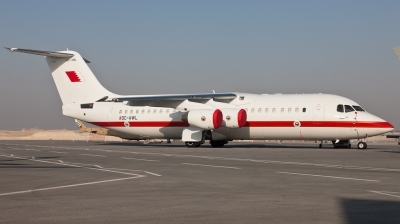 Photo ID 97263 by Andreas Zeitler - Flying-Wings. Bahrain Royal Flight British Aerospace Avro 146 RJ100, A9C AWL