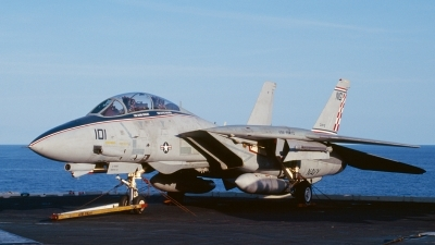 Photo ID 97176 by David Baranek. USA Navy Grumman F 14A Tomcat, 161856