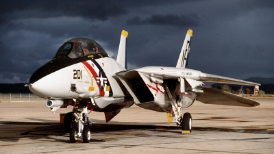 Photo ID 97474 by David Baranek. USA Navy Grumman F 14A Tomcat, 162596
