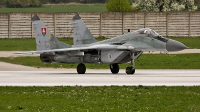 Photo ID 97576 by Jan Suchanek. Slovakia Air Force Mikoyan Gurevich MiG 29AS, 6728