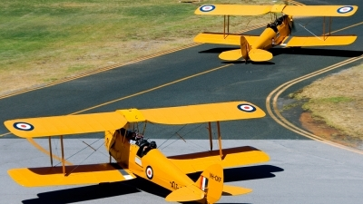 Photo ID 97923 by Mir Zafriz. Private Royal Aero Club of Western Australia De Havilland DH 82A Tiger Moth, VH CKF