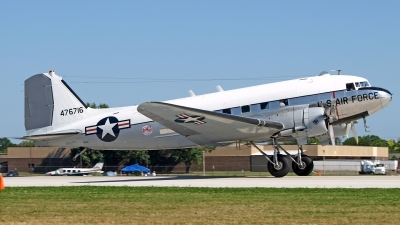 Photo ID 97860 by Steve Homewood. Private Yankee Air Force Douglas TC 47B Skytrain, N8704
