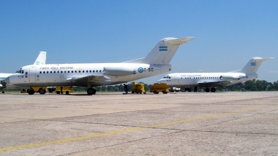 Photo ID 12531 by Martin Kubo. Argentina Air Force Fokker F 28 1000 Fellowship, T 50