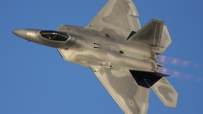 Photo ID 12540 by Jonathan Derden - Jetwash Images. USA Air Force Lockheed Martin F 22A Raptor, 02 4036