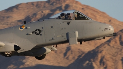 Photo ID 12557 by Jonathan Derden - Jetwash Images. USA Air Force Fairchild A 10A Thunderbolt II, 80 0168