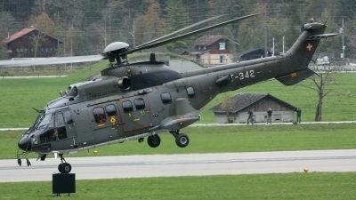 Photo ID 98224 by Yann J.. Switzerland Air Force Eurocopter AS 532UL Cougar, T 342