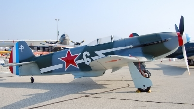 Photo ID 98531 by W.A.Kazior. Private Planes of Fame Air Museum Yakovlev Yak 3UA, N130AM