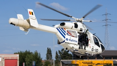 Photo ID 98454 by Jan Eenling. Belgium Politie Police MD Helicopters MD 900 Explorer, G 10