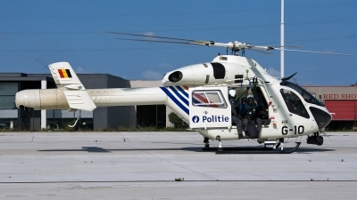 Photo ID 98453 by Jan Eenling. Belgium Politie Police MD Helicopters MD 900 Explorer, G 10