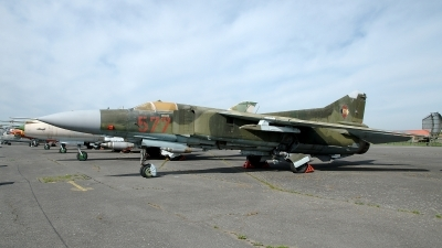 Photo ID 98444 by Günther Feniuk. East Germany Air Force Mikoyan Gurevich MiG 23MF, 577