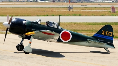 Photo ID 98749 by W.A.Kazior. Private Private Mitsubishi A6M3 Zero, N712Z