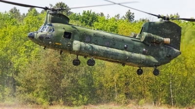 Photo ID 98757 by Jimmy van Drunen. Netherlands Air Force Boeing Vertol CH 47D Chinook, D 102
