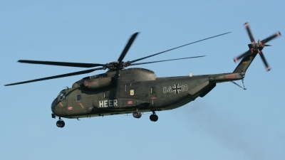 Photo ID 12600 by Rainer Mueller. Germany Army Sikorsky CH 53G Super Stallion, 84 18