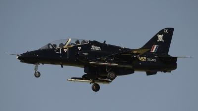 Photo ID 98732 by Armando Tuñon. UK Air Force British Aerospace Hawk T 1A, XX203