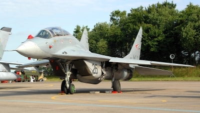 Photo ID 98783 by Peter Boschert. Hungary Air Force Mikoyan Gurevich MiG 29UB 9 51, 26