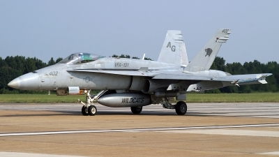 Photo ID 98819 by David F. Brown. USA Navy McDonnell Douglas F A 18C Hornet, 165213